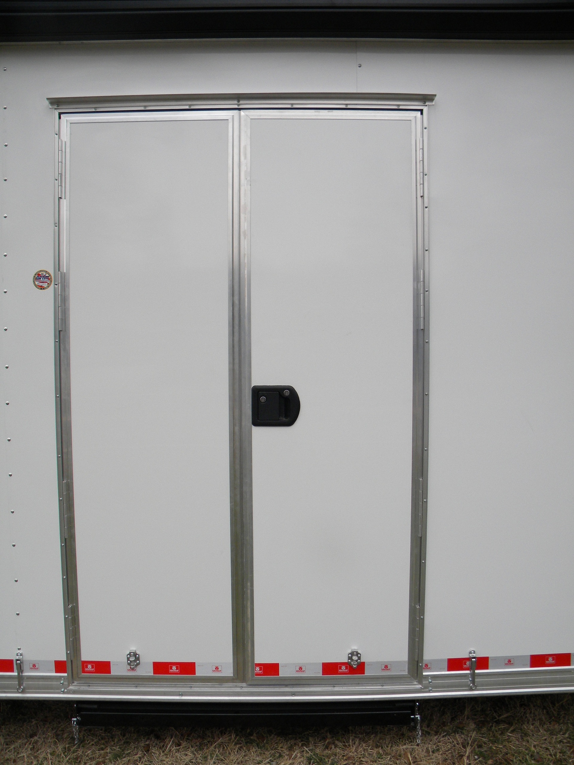 Rv doors replacement rv entrance doors 24 x 72 for Double door replacement
